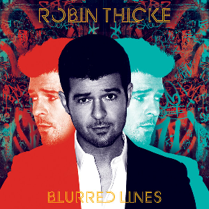 Album artwork for Blurred Lines by Robin Thicke