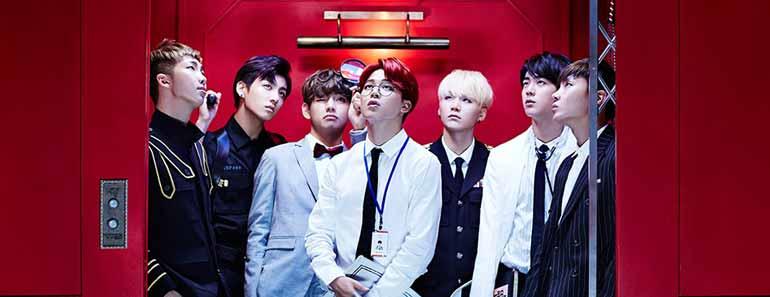 Promotional photo of Bangtan Boys.