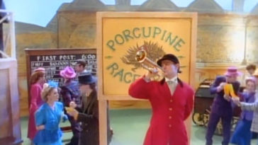 """Photo of the opening shot from """"Porcupine Racetrack."""""""