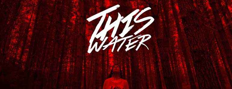 """Artwork from Eveyln Hart's music video """"This Water."""""""